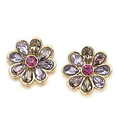 Carolee® Spring Bouquet Flower Stud Earrings