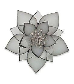 Carolee® Pin Me Resin Stacked Flower Brooch