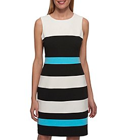 Tommy Hilfiger® Color Block Striped Dress