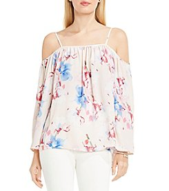 Vince Camuto® Poetic Bouquet Cold-Shoulder Blouse