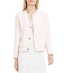 Vince Camuto® Snap Front Blistered Texture Bomber Jacket