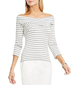 Vince Camuto® Off-Shoulder Candid Stripe Top