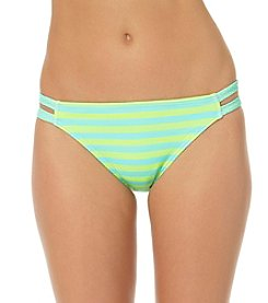 In Mocean® Stripe Double Tab Side Bikini Bottoms
