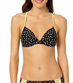 In Mocean® Snowstorm Push-Up Bikini Top