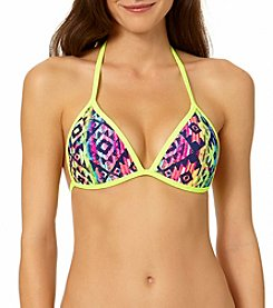 In Mocean® Southwest Tapestry Push-Up Bikini Top