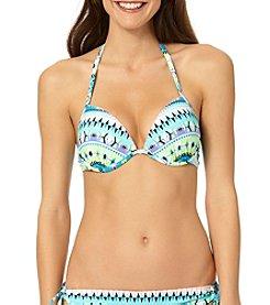 In Mocean® Printed Parade Push Up Bikini Top