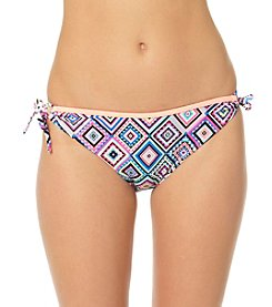 In Mocean® Smoke And Mirrors Side Tie Bikini Bottoms