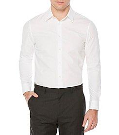 Perry Ellis® Solid Seersucker Button Down Shirt