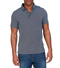 Nautica® Slim Fit Printed Polo Shirt