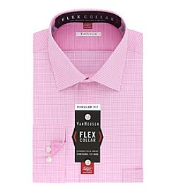 Van Heusen® Flex Collar with Tek Fit Regular Fit Dress Shirt