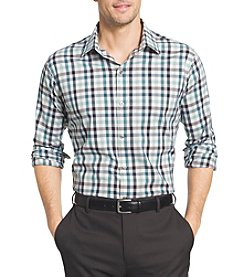 Van Heusen® Men's Big & Tall Long Sleeve Flex Woven Button Down Shirt