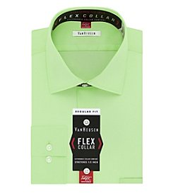 Van Heusen® Regular Fit Twill Solid Dress Shirt