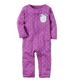 Carter's® Baby Girls' Whale Coverall