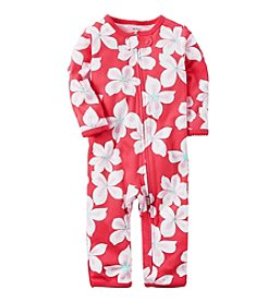 Carter's® Baby Girls' Floral Footless Coverall