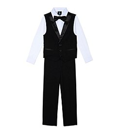 Steve Harvey Boys' 4-7 4-Piece Tuxedo Vest Set