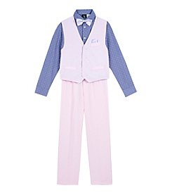 Steve Harvey Boys' 8-20 4-Piece Vest Set