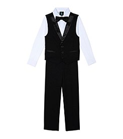 Steve Harvey Boys' 8-20 4-Piece Tuxedo Vest Set