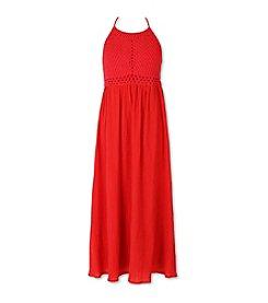 Speechless® Girls' 7-16 Crochet Maxi Dress