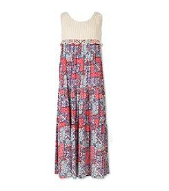 Speechless® Girls' 7-16 Maxi Length Dress