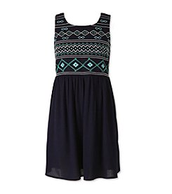 Speechless® Girls' 7-16 Fit 'N' Flare Dress