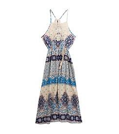 Rare Editions® Girls' 7-16 Gauze Maxi Dress