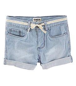 OshKosh B'Gosh® Girls' 4-10 Core Shorts