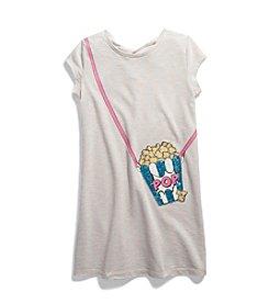 Jessica Simpson Girls' 7-16 Romey Popcorn Tee