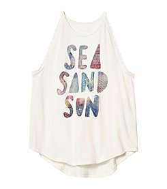 Jessica Simpson Girls' 7-16 Sea Sand Sun Tank Top