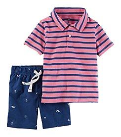 Carter's® Boys' 2T-7 2-Piece Shorts Set