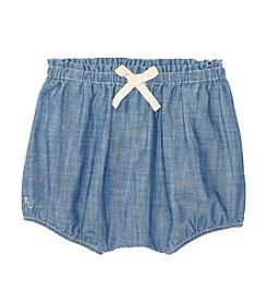 Ralph Lauren® Baby Girls' Chambray Bloomer