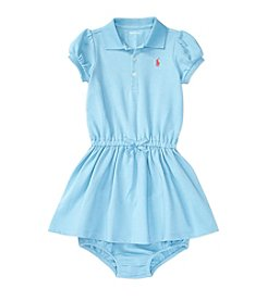 Ralph Lauren® Baby Girls' Mesh Polo Dress