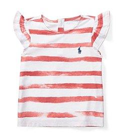 Ralph Lauren® Baby Girls' Striped Top