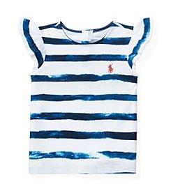 Ralph Lauren® Baby Girls' Striped Tee