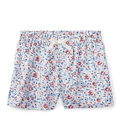 Ralph Lauren® Baby Girls' Pull On Shorts