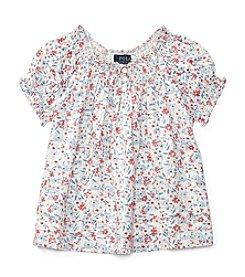 Polo Ralph Lauren® Girls' 5-6X Floral Top