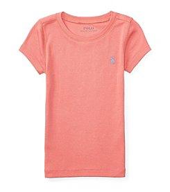 Polo Ralph Lauren® Girls' 5-6X Crewneck Top