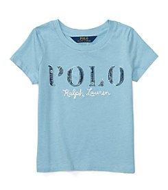 Polo Ralph Lauren® Girls' 2T-6X Jersey Polo Tee