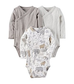 Carter's® Baby 3-Pack Side Snap Printed Bodysuits