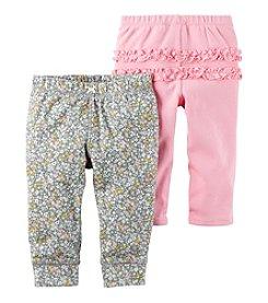 Carter's® Baby Girls' 2-Pack Ruffle Pants