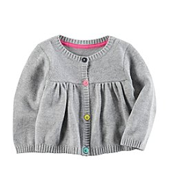 Carter's® Baby Girls' Button Up Sweater