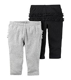Carter's® Baby Girls' 2-Pack Pants Set