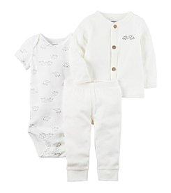 Carter's® Baby 3-Piece Elephant Bodysuit Set