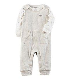 Carter's® Baby 2-Piece Elephant Coverall Set