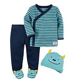 Carter's® Baby Boys' 3-Piece Footed Set