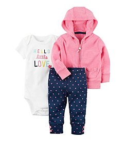 Carter's® Baby Girls' 3-Piece Cardigan Set