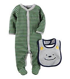 Carter's® Baby Boys' 2-Piece Bib And Bodysuit