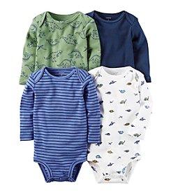 Carter's® Baby Boys' 4-Pack Dino Bodysuits