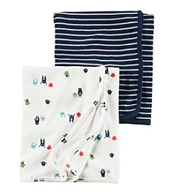 Carter's® Baby Boys' 2-Pack Monster Swaddle Blanket