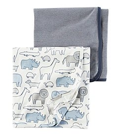 Carter's® Baby Boys' 2-Pack Swaddle Blankets