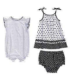 Sweet Heart Rose® Baby Girls' Romper Dress Set